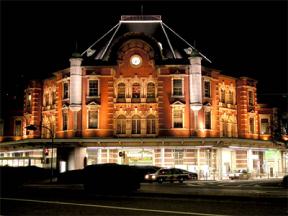 1914年(大正3年)に開業された東京駅。
