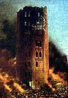 凌雲閣は大正12年の関東大震災で倒壊、爆破されました。