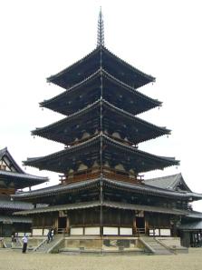 法隆寺 西院伽藍 五重塔
